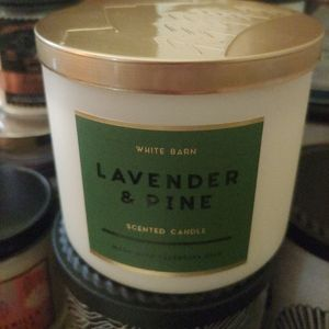 2 Bbw lavender & pine candles